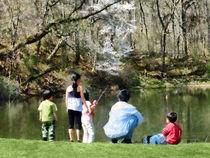 Family Fishing by Susan Savad