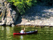 Canoeing in Paterson NJ by Susan Savad