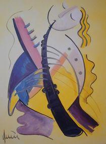 Pan Flute von nicola-quici-kunst