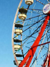 Ferris Wheel Closeup by Susan Savad