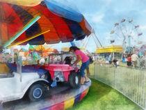 Car Ride at the Fair von Susan Savad