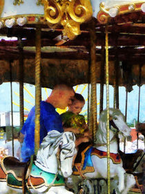 First Carousel Ride by Susan Savad
