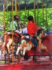 Friends on the Merry-Go-Round by Susan Savad