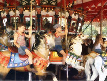Waving Hi From the Merry-Go-Round by Susan Savad