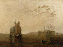 Hulks on the Tamar by Joseph Mallord William Turner
