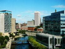 Providence RI Skyline by Susan Savad