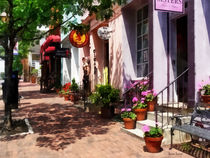 Alexandria VA - Street With Art Gallery and Tobacconist von Susan Savad