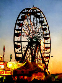 Ferris Wheel at Night von Susan Savad