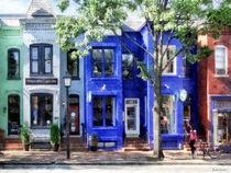 Alexandria VA - Colorful Street von Susan Savad
