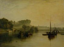 Petworth, Sussex, the Seat of the Earl of Egremont: Dewy Morning by Joseph Mallord William Turner