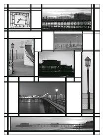 Mondrian-pier
