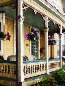 Porch with Hanging Plants von Susan Savad