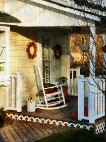 Rocking Chair on Side Porch von Susan Savad