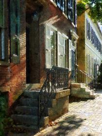 Street in New Castle Delaware von Susan Savad
