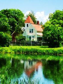 Suburban House with Reflection von Susan Savad