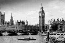 London ... Westminster & Big Ben by meleah