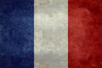 Flag of France, vintage retro style von Bruce Stanfield