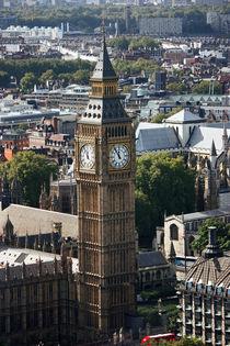 London ... city view with big ben von meleah
