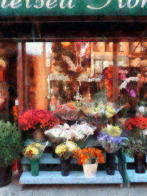 Manhattan NY - Chelsea Flower Shop von Susan Savad