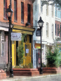 Baltimore MD - Quaint Fells Point Street von Susan Savad