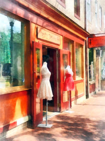 Baltimore MD - Dress Shop Fells Point von Susan Savad