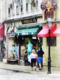Newport Rhode Island - Thames Street Newport RI von Susan Savad
