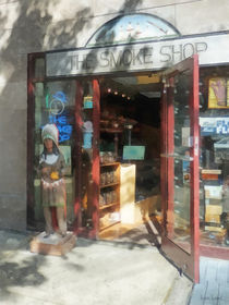 Hoboken NJ - Smoke Shop by Susan Savad