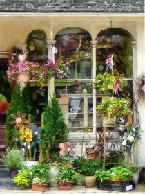 Strasburg PA Flower Shop by Susan Savad