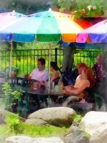 Under the Colorful Umbrellas by Susan Savad