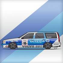 Volvo 850R TWR 1994 British Touring Car Championship (Square) by monkeycrisisonmars