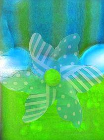 Grüne Energie von Angelika  Schütgens