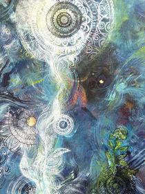 Lichtquelle im Schatten by Josefine Neumann