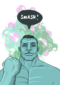 SMASH! Hulk von Geo Law