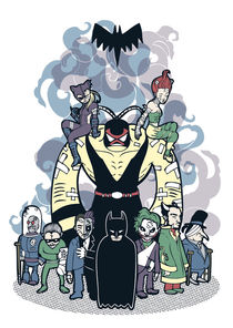 Batman and Friends von Geo Law