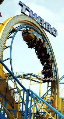 Rollercoaster at Brighton Pier by Philipp Tillmann