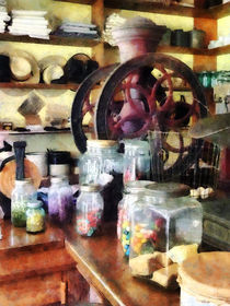 General Store With Candy Jars by Susan Savad
