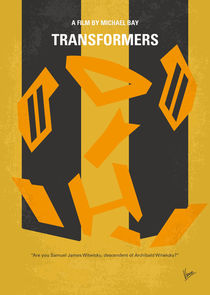No540 My Transformers minimal movie poster by chungkong