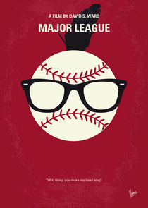 No541 My Major League minimal movie poster von chungkong