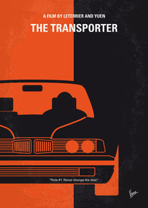 No552 My The Transporter minimal movie poster by chungkong