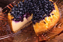 Cheesecake blueberries by dar1930