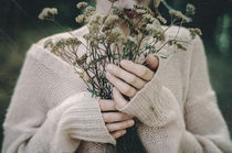 dead flowers autumn by Inna Mosina