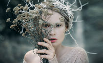 Kaya. winter queen  von Inna Mosina