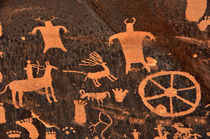 Newspaper Rock Close-up by Gary Whitton