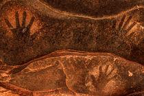 Ancient Anasazi Sandstone Hand Prints von Gary Whitton