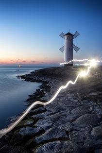Swinemüne Lightpainting von Kai Süselbeck