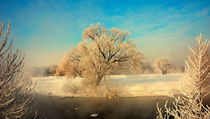 Beautiful Russian Winter by Yuri Hope