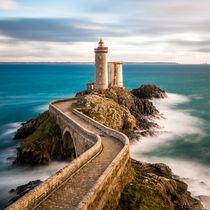 Le Minou, Bretagne, im Abendlicht by Moritz Wicklein