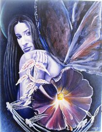 Dark Angel von stone-heart-fine-art