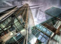 Canary Wharf Tower Abstracts by David Pyatt