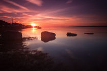 Loughor Estuary sunset von Leighton Collins